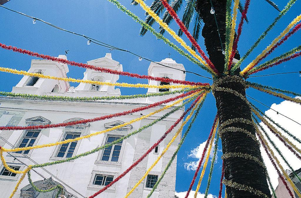 Dekoration in Lissabon