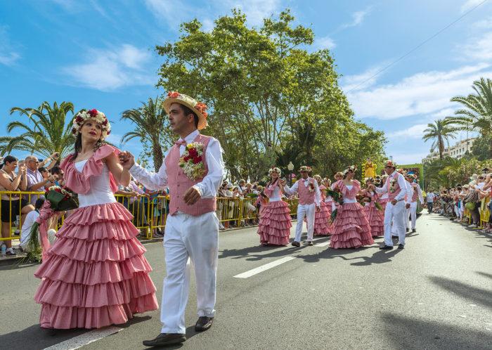 Blumenparade auf Madeira