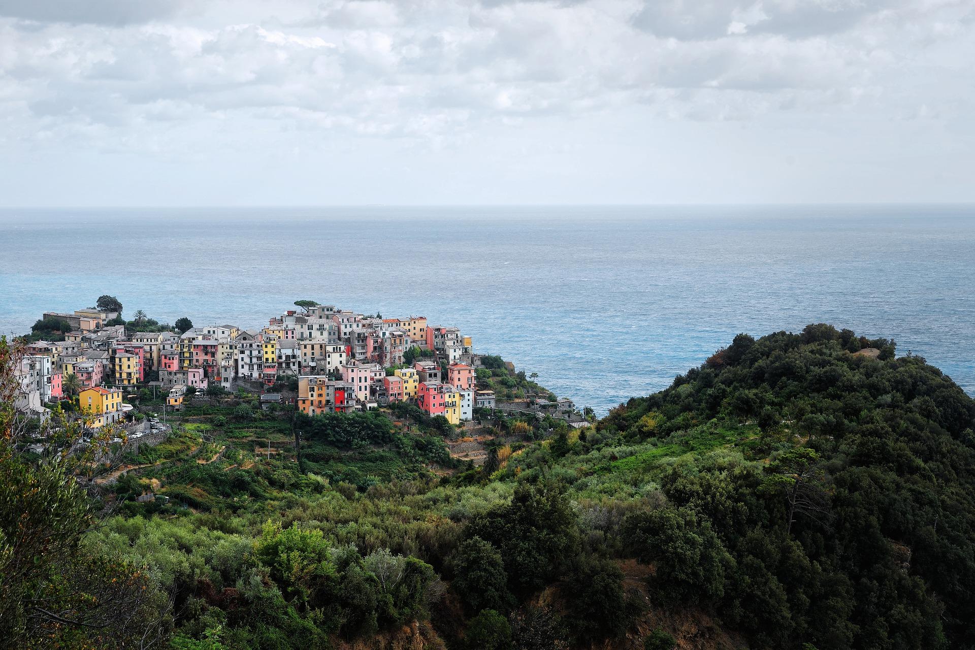 Blick Cinque Terre