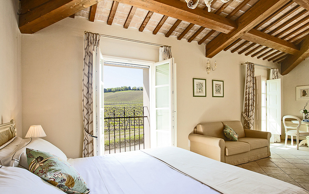 Juniorsuite Borgo Condé Wine Resort
