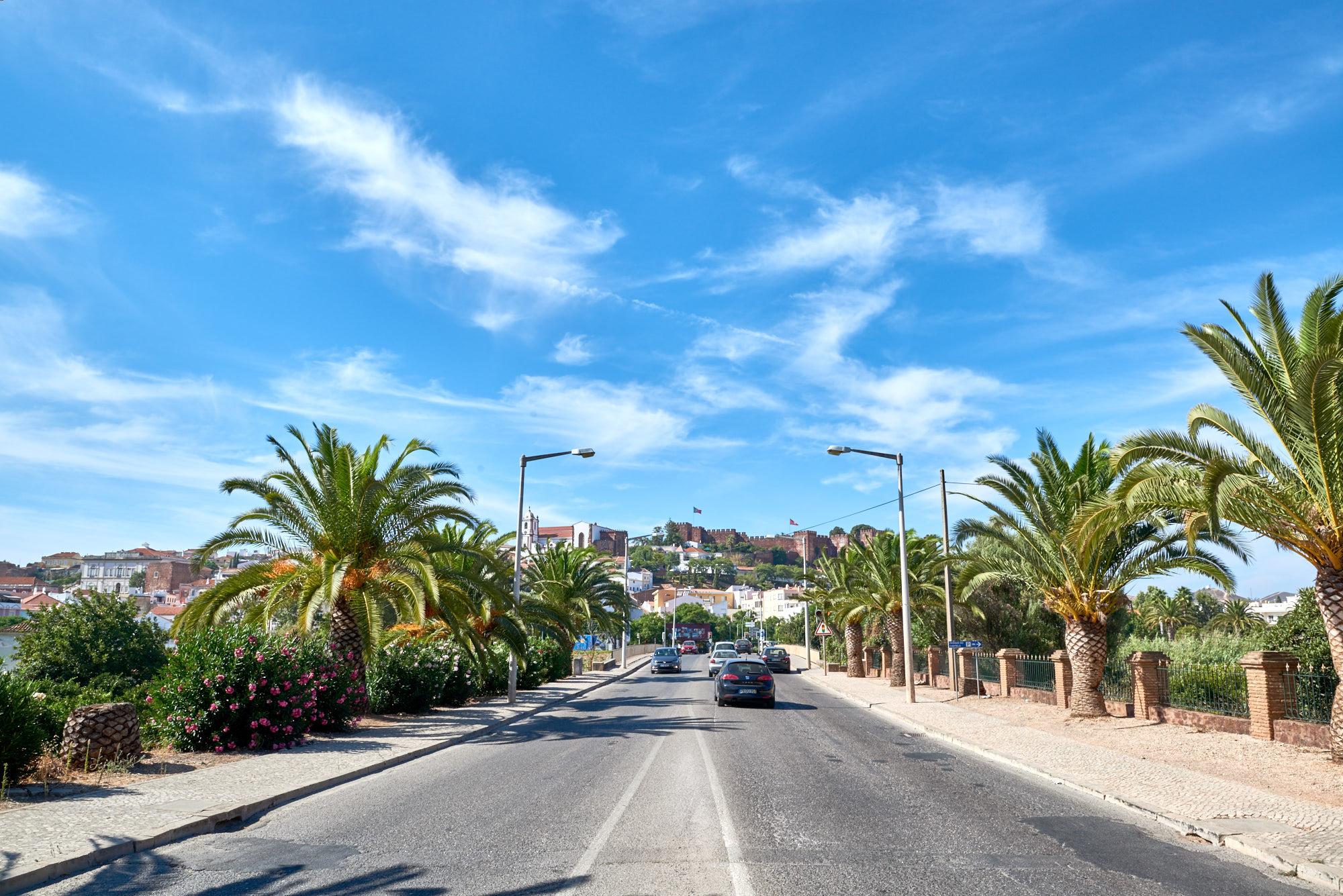 Autofahren an der Algarve