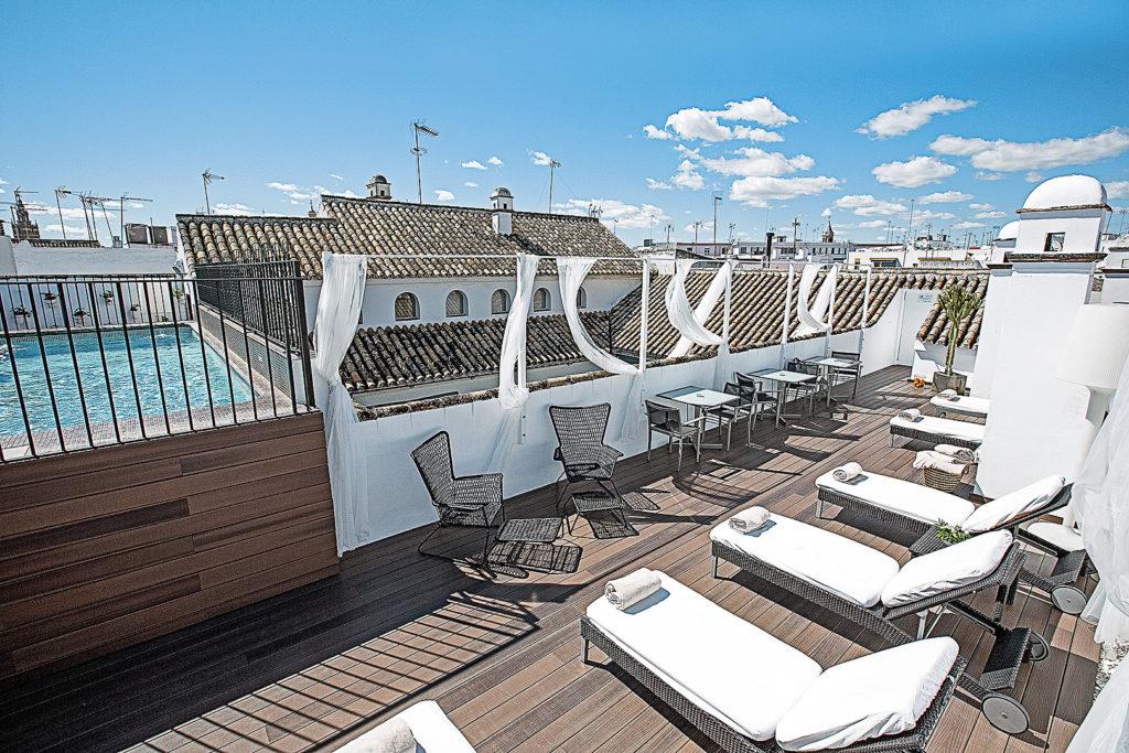 Dachterrasse Hospes Las Casas del Rey de Baeza