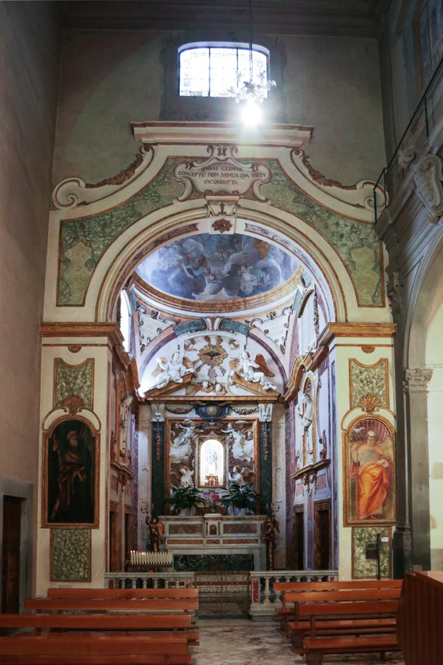 Kapelle Innenraum Empoli