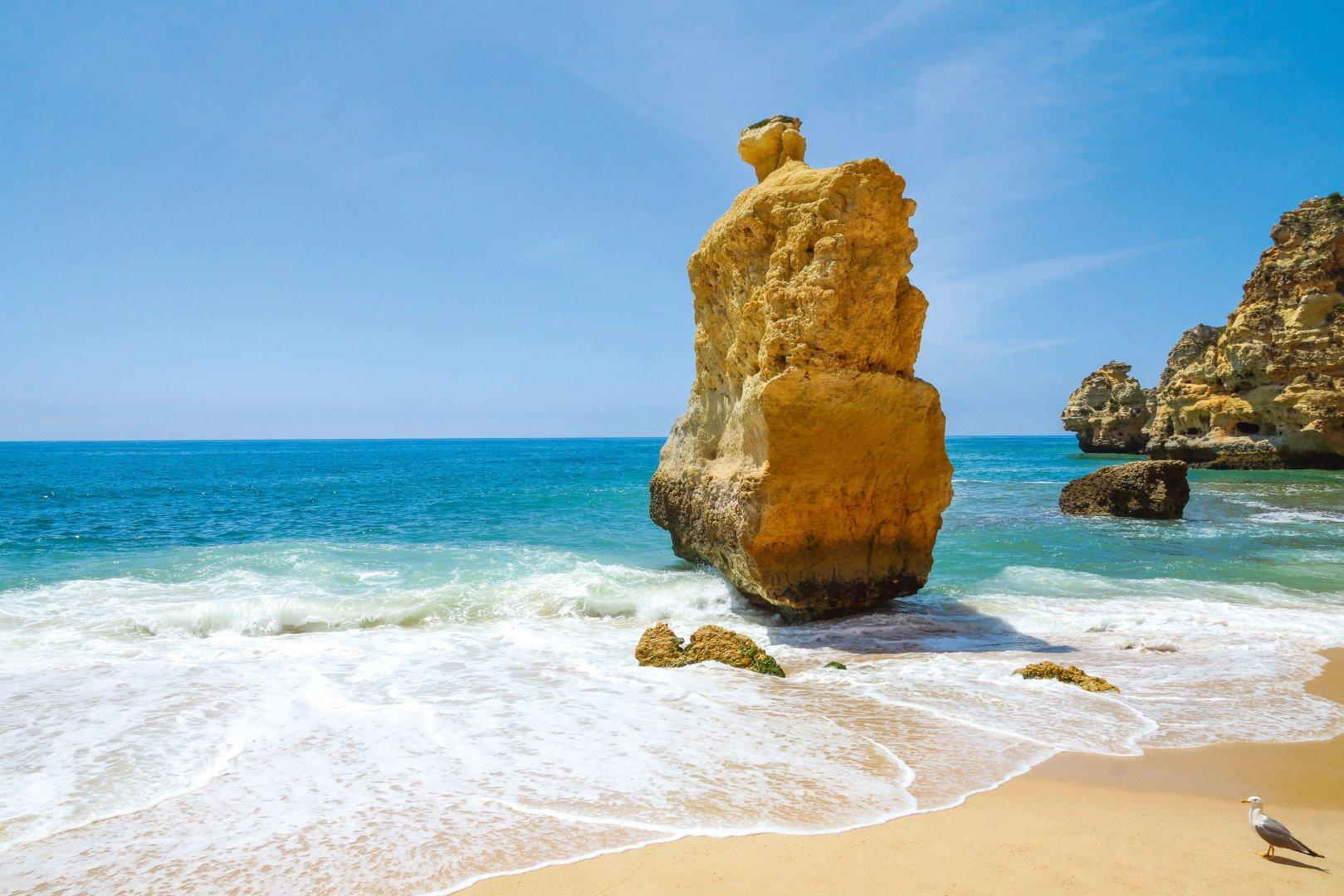 Praia da Marinha Algarve