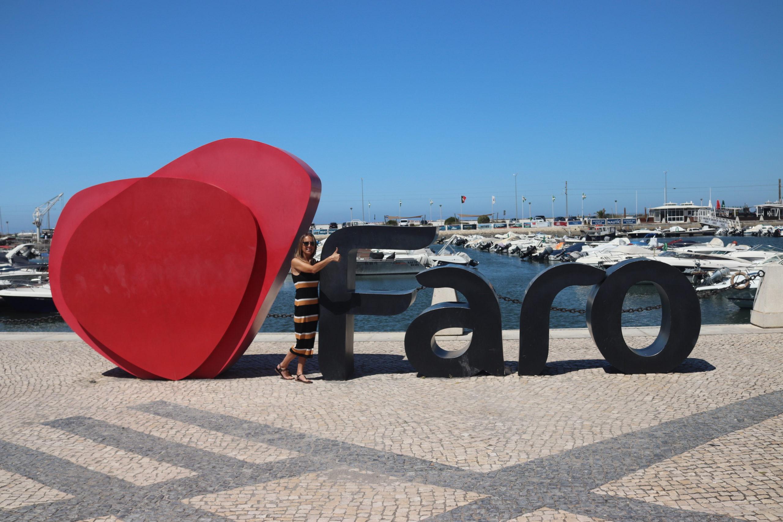 Algarve Faro Schild