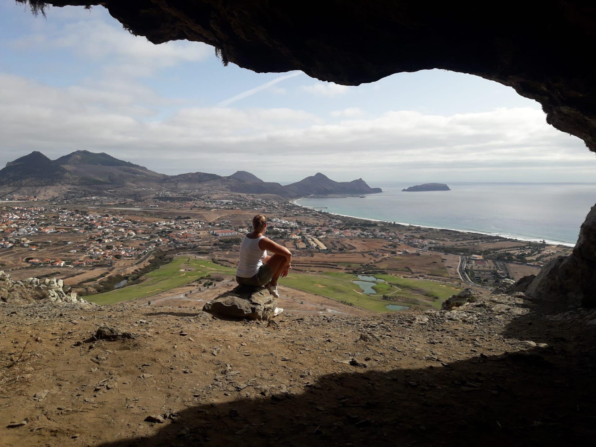 Porto Santo Ausblick