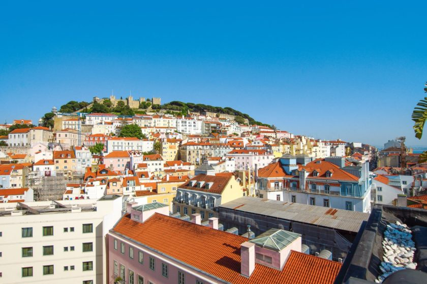 Lissabon Castelo Sao Jorge