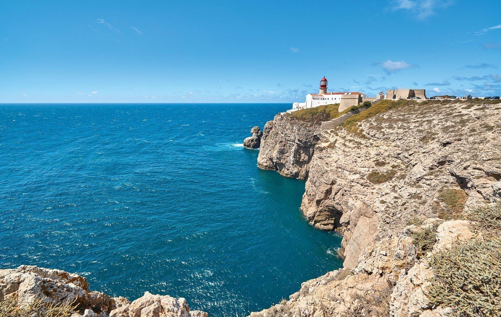 Algarve Sagres Cabo Sao Vicente