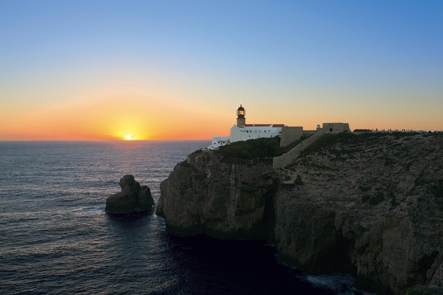 Algarve Sonnenuntergang Sagres