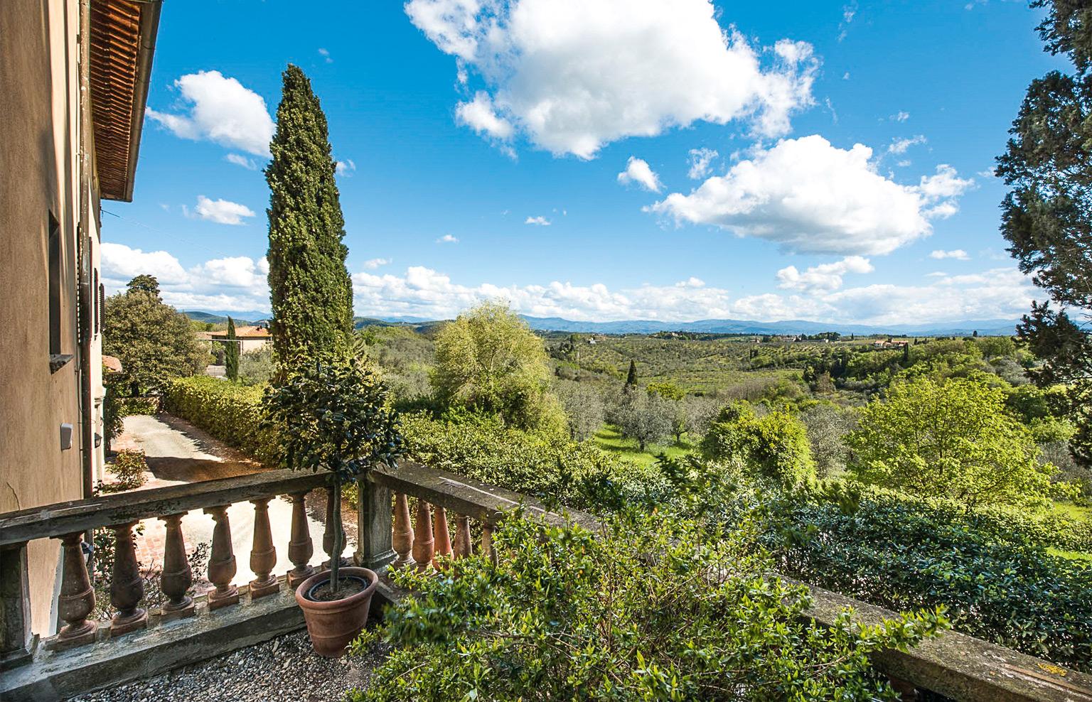 Villa il Poggiale, Italienurlaub, Aussicht
