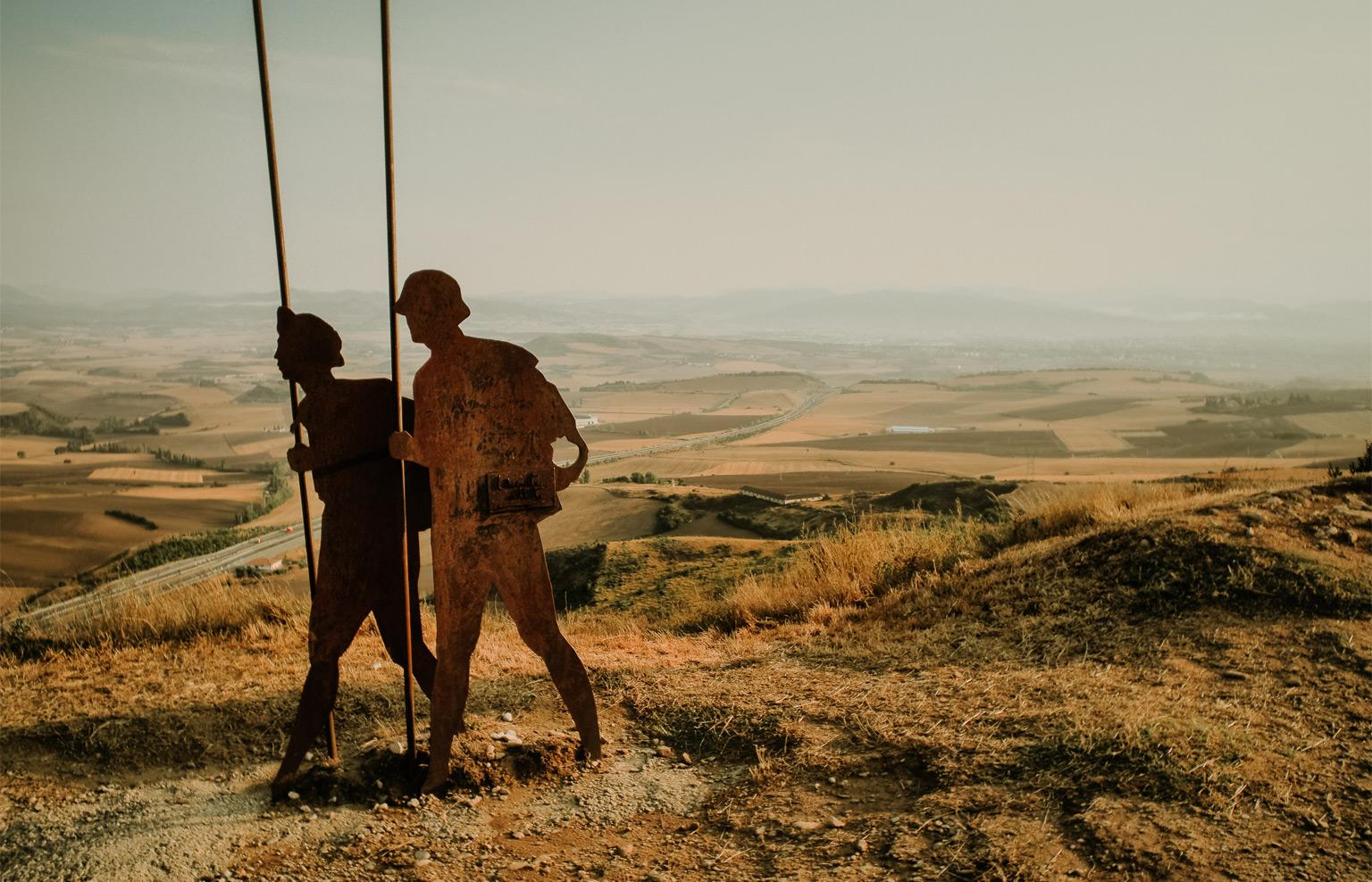 Wandern und Pilgern Jakobsweg