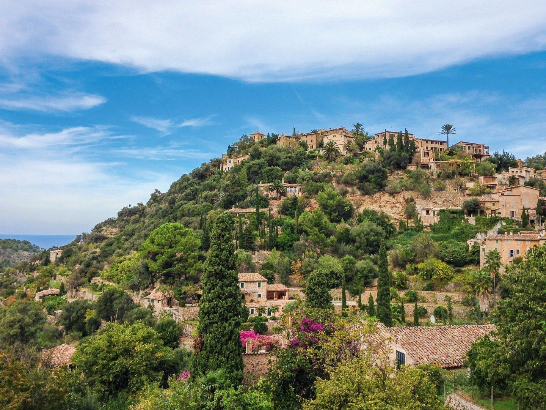 Mallorca Deia Aussicht
