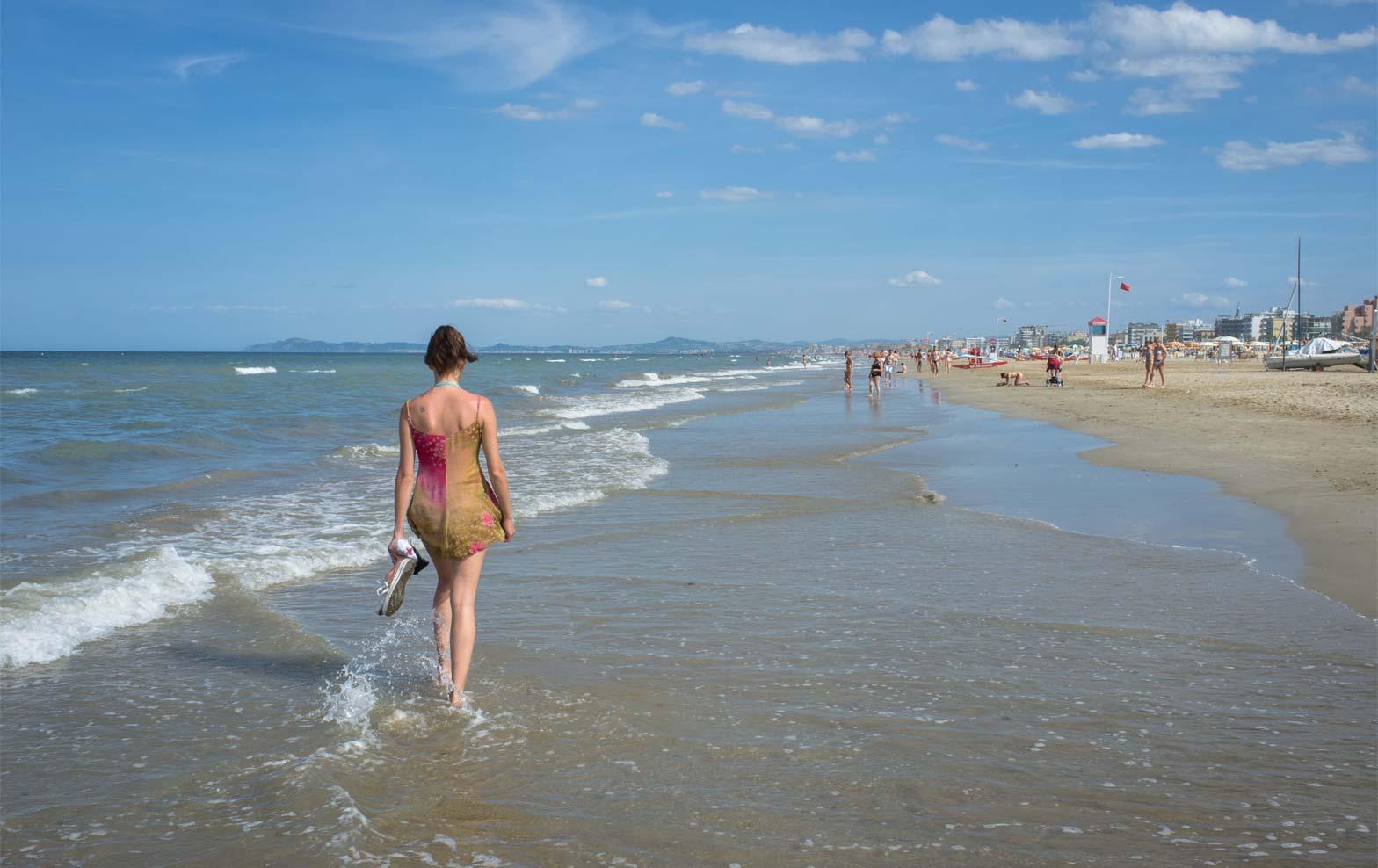 Emilia-Romagna Rimini Strand