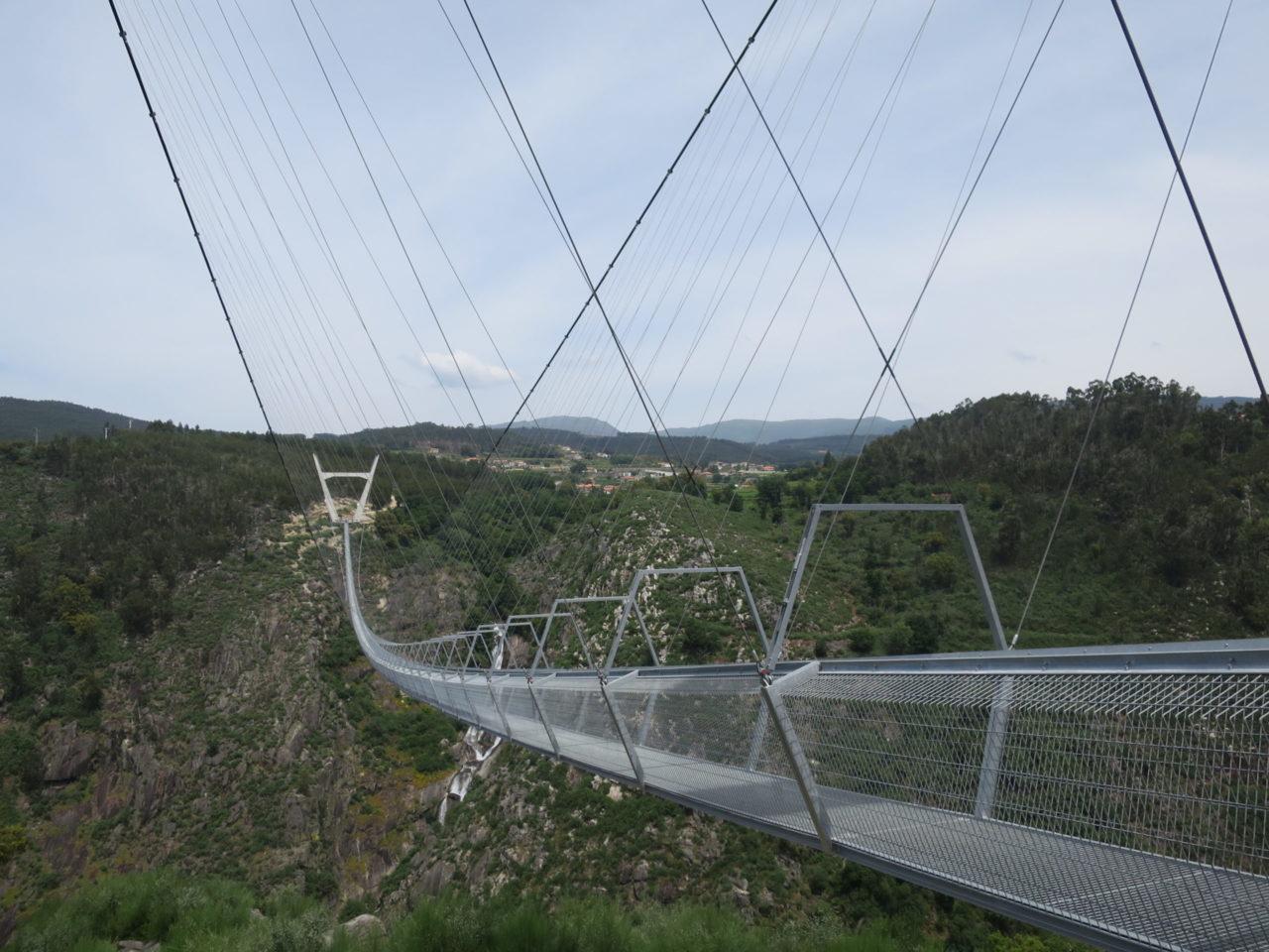 die Arouca Hängebrücke